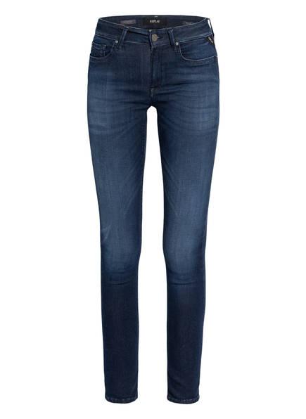 REPLAY Skinny Jeans NEW LUZ HYPERFLEX CLOUDS, Farbe: 007 DARK BLUE (Bild 1)