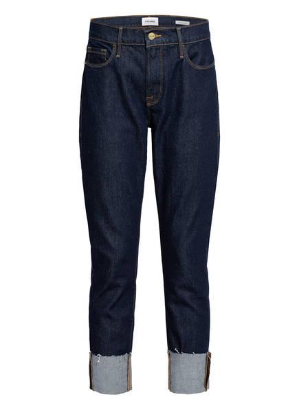 FRAME DENIM Boyfriend Jeans LE GARCON CROP , Farbe: THLA THALIA DARK BLUE (Bild 1)