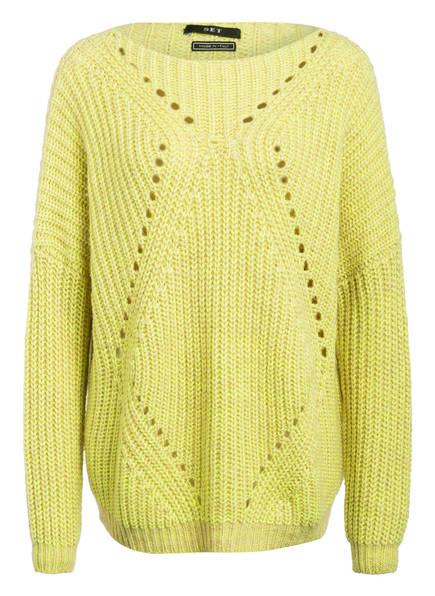 SET Oversized-Pullover, Farbe: GELB/ DUNKELGELB (Bild 1)