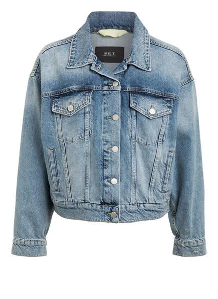 SET Jeans-Jacke, Farbe: HELLBLAU (Bild 1)