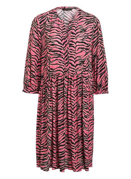SET Kleid mit 3/4-Arm, Farbe: PINK/ SCHWARZ (Bild 1)