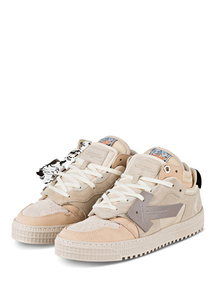OFF-WHITE Sneaker OFF COURT, Farbe: BEIGE (Bild 1)