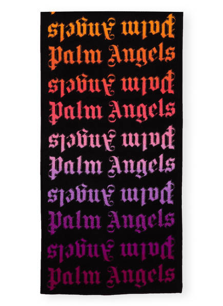 Palm Angels Schal, Farbe: SCHWARZ/ LILA/ ROSA (Bild 1)