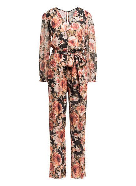 Mrs & HUGS Jumpsuit, Farbe: DUNKELROT/ SCHWARZ/ OLIV (Bild 1)