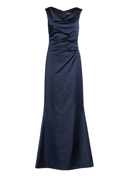 Vera Mont Abendkleid aus Satin, Farbe: DUNKELBLAU (Bild 1)