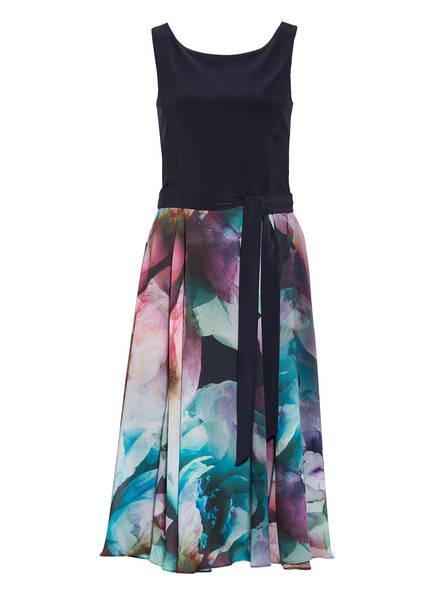 Vera Mont Kleid, Farbe: DUNKELBLAU/ TÜRKIS/ LILA (Bild 1)
