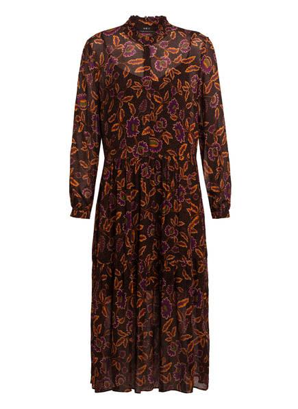 SET Kleid, Farbe: SCHWARZ/ ORANGE/ LILA (Bild 1)