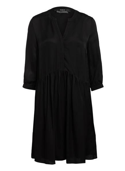 SET Kleid mit 3/4-Arm, Farbe: SCHWARZ (Bild 1)