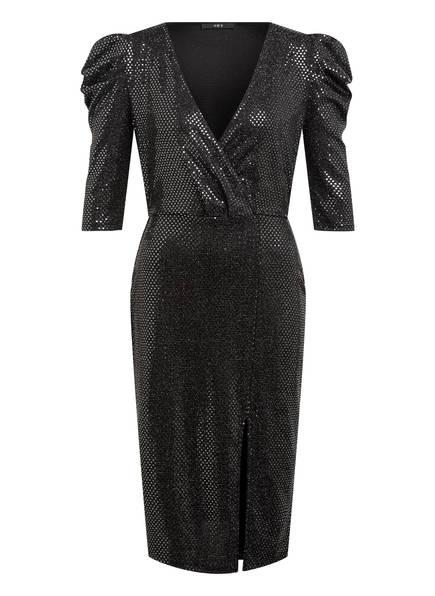 SET Kleid mit 3/4-Arm, Farbe: SCHWARZ/ SILBER (Bild 1)