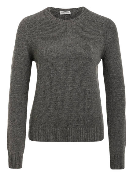 SAINT LAURENT Pullover, Farbe: GRAU MELIERT (Bild 1)