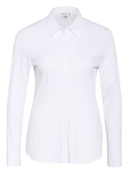 DESOTO Hemdbluse PIA aus Jersey, Farbe: WEISS (Bild 1)