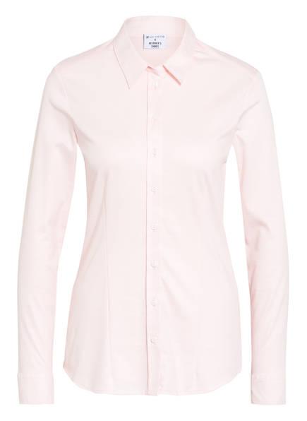 DESOTO Hemdbluse PIA aus Jersey, Farbe: HELLROSA (Bild 1)