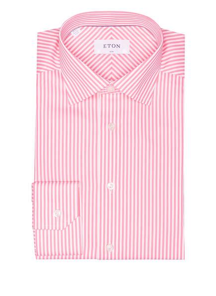 ETON Hemd Slim Fit , Farbe: PINK/ WEISS GESTREIFT (Bild 1)