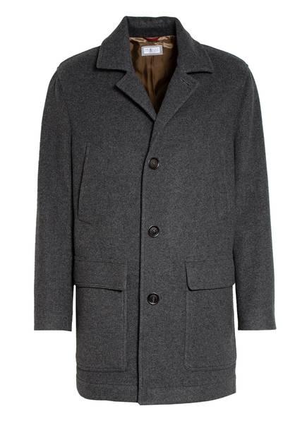 BRUNELLO CUCINELLI Cashmere-Mantel, Farbe: GRAU MELIERT (Bild 1)