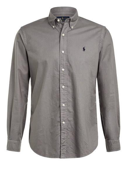 POLO RALPH LAUREN Oxfordhemd Custom Fit, Farbe: DUNKELGRAU (Bild 1)