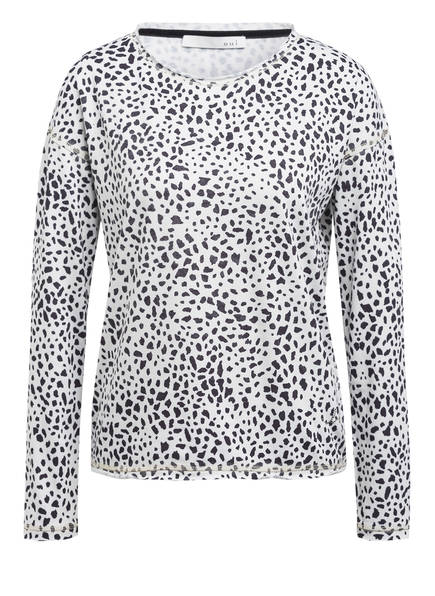 oui Sweatshirt, Farbe: WEISS/ SCHWARZ (Bild 1)