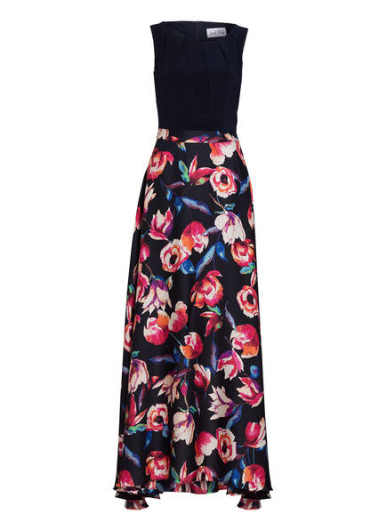 Joseph Ribkoff Kleid, Farbe: DUNKELBLAU/ PINK/ CREME (Bild 1)