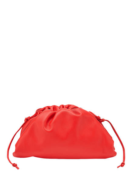 BOTTEGA VENETA Umhängetasche THE MINI POUCH, Farbe: BRIGHT RED 20 (Bild 1)