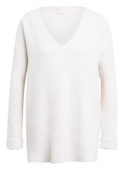 Mrs & HUGS Cashmere-Pullover, Farbe: ECRU MELIERT (Bild 1)