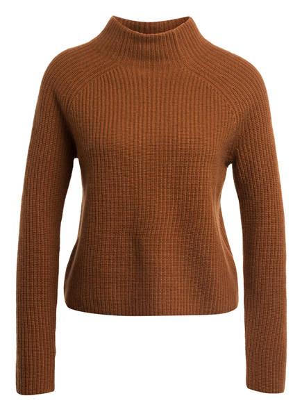 Mrs & HUGS Cashmere-Pullover, Farbe: BRAUN (Bild 1)