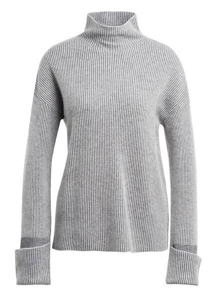 Mrs & HUGS Cashmere-Pullover, Farbe: GRAU/ HELLGRAU (Bild 1)