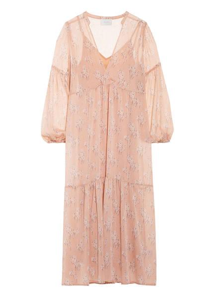 NEO NOIR Kleid MILES MINI FLOWER, Farbe: NUDE (Bild 1)