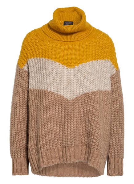 Herrlicher Pullover NIKITA, Farbe: DUNKELGELB/ BEIGE (Bild 1)