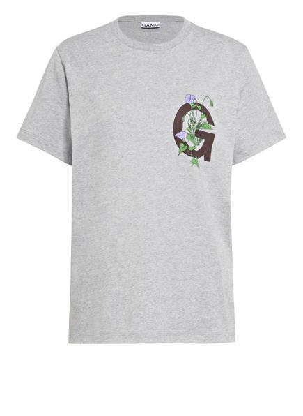 GANNI T-Shirt , Farbe: GRAU MELIERT (Bild 1)