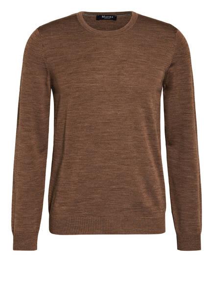 MAERZ MUENCHEN Pullover, Farbe: DUNKELBRAUN (Bild 1)