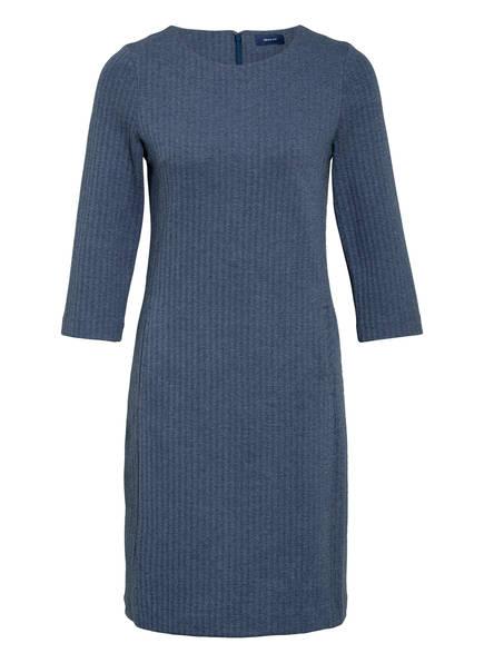 GANT Kleid mit 3/4-Arm, Farbe: DUNKELBLAU MELIERT (Bild 1)