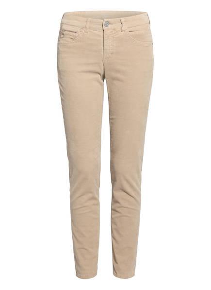 MAC Cordhose CORDUROY Slim Fit, Farbe: BEIGE (Bild 1)
