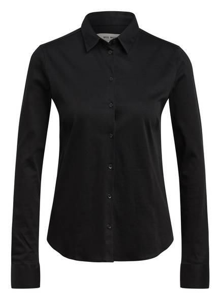 MOS MOSH Jersey-Hemdbluse TINA , Farbe: SCHWARZ (Bild 1)