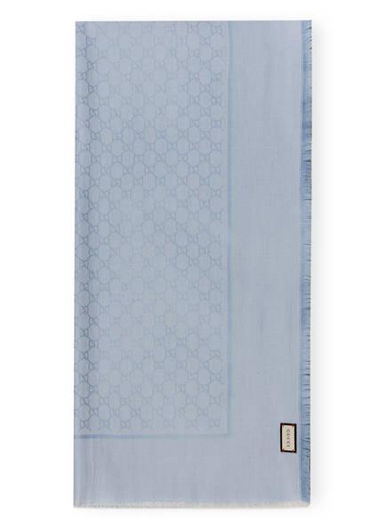 GUCCI Schal, Farbe: 4900 LIGHT BLUE (Bild 1)
