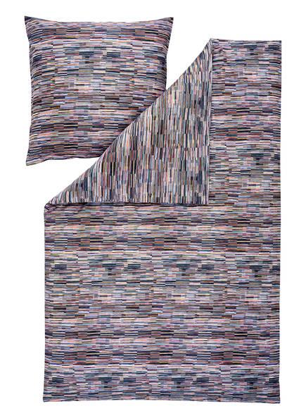 ESTELLA Bettwäsche KASIMIR, Farbe: GRÜN/ ORANGE/ WEISS (Bild 1)