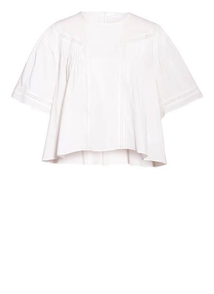 ANINE BING Blusenshirt ELOISE, Farbe: WEISS (Bild 1)