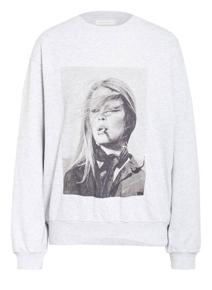 ANINE BING Sweatshirt RAMONA , Farbe: GRAU MELIERT (Bild 1)
