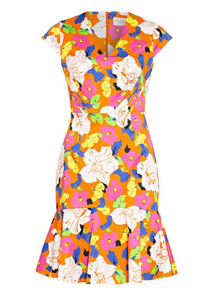 damsel in a dress Kleid SIETTA, Farbe: ORANGE/ WEISS/ PINK (Bild 1)