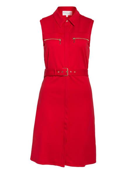 damsel in a dress Hemdblusenkleid ISIDORE, Farbe: DUNKELROT (Bild 1)