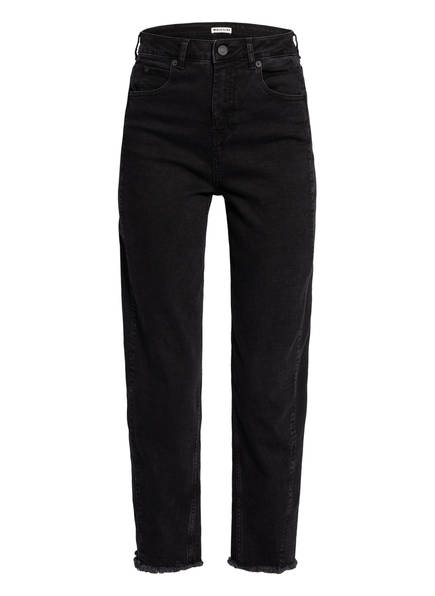 WHISTLES 7/8-Jeans, Farbe: 1 BLACK (Bild 1)