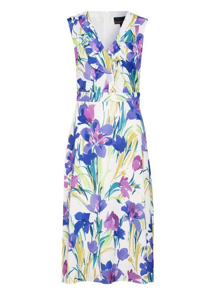 Phase Eight Kleid MYLEN mit Volantbesatz, Farbe: WEISS/ LILA/ GRÜN (Bild 1)