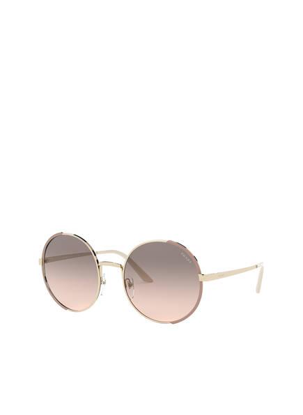 PRADA Sonnenbrille PR 59XS, Farbe: 07B4K0 - GOLD/ ROSA/ BRAUN VERLAUF (Bild 1)