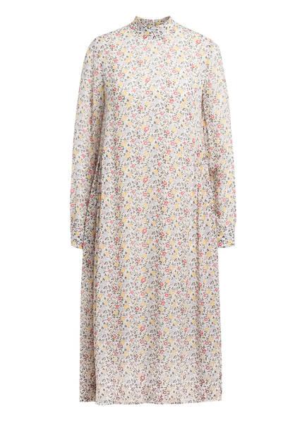 GANNI Kleid , Farbe: WEISS/ DUNKELGRÜN/ GELB (Bild 1)