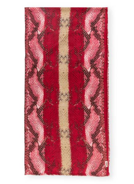 BECKSÖNDERGAARD Schal, Farbe: PINK/ ROSA/ SCHWARZ (Bild 1)