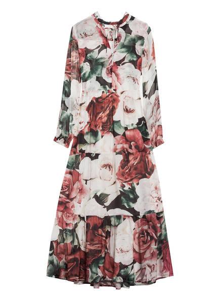 Mrs & HUGS Kleid, Farbe: WEISS/ DUNKELROT/ GRÜN (Bild 1)
