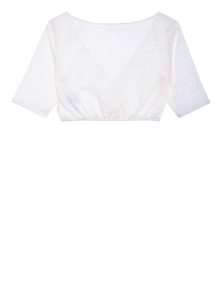 SPORTALM Dirndlbluse mit 3/4-Arm , Farbe: WEISS (Bild 1)