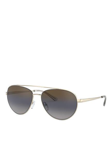 MICHAEL KORS Sonnenbrille MK1071, Farbe: 1014I1 - GOLD/ GRAU VERLAUF (Bild 1)