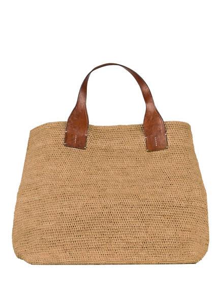 IBELIV Strandtasche RAFFIA XL, Farbe: BEIGE (Bild 1)