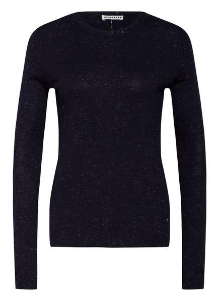 WHISTLES Pullover ANNIE mit Glitzergarn, Farbe: DUNKELBLAU (Bild 1)