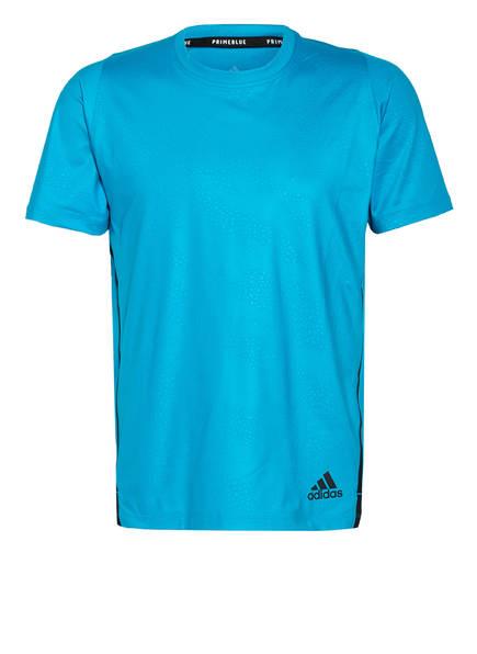 adidas T-Shirt FEELIFT PRIMEBLUE, Farbe: TÜRKIS (Bild 1)