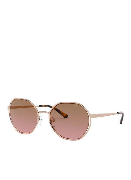 MICHAEL KORS Sonnenbrille MK1072, Farbe: 110814 - ROSE GOLD/ PINK VERLAUF (Bild 1)